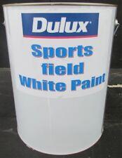 DULUX 10 LITRE  EXTERIOR SPORTS FIELD WHITE COLOR PAINT