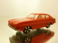 FALLER HIT-CAR FORD CAPRI - RED L6.5cm - GOOD CONDITION