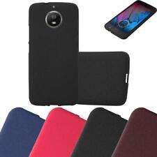 Schutz Hülle für Motorola MOTO G5s Handy Cover Case TPU Matt Bumper
