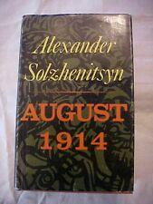 1972 BOOK ALEXANDER SOLZHENITSYN AUGUST 1914 Birth of RUSSIA