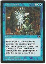 Magic the Gathering MTG Portal Mystic Denial Card a