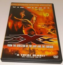 xXx Full Screen Special Edition Dvd Vin Diesel Ex-Library