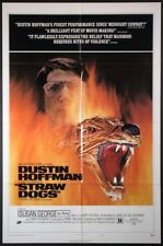 STRAW DOGS PECKINPAH ULTRA-VIOLENCE DUSTIN HOFFMAN 1972 1SHT.