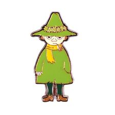 Genuine Moomins Snufkin Character Pin Badge Tove Jansson Another Direction