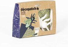 Décopatch KIT022C Bastel Mini-Set Pappmaché (Fliege, ideal für Kinder) 1 Set