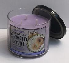 Bath & Body Works Cinnamon Sugared Donut 3-Wick Jar Candle 14.5 oz