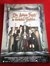 Die Addams Family in verrückter Tradition Kinoplakat Poster A1, Julia, Lloyd