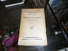 Délire et rêves dans La Gradiva de Jensen, Freud
