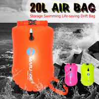 20L Waterproof Dry Bag Storage Swimming Backpack Camping Float Stuff Sack Buoy