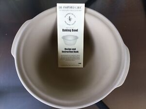 Pampered chef baking bowl stone ware