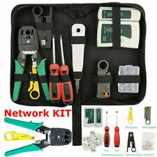 More details for rj45 ethernet network cable tester crimping stripper cutter tool kit set mnd