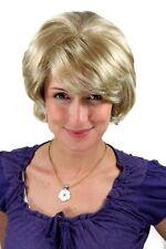 PERRUQUE pour femmes court ondulés GRANDE COUPE blond cheveux synthétiques 25 cm