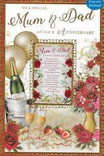 Mum & Dad Anniversary Card*Sentimental Keepsake Card*1St Class Post*N9