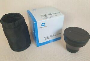 Konica Minolta Telephoto Converter ACT 100 Lens 1.5x Original Box