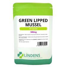 Extracto de mejillón de labio verde de 3 PACQUETE 270 cápsulas de 500 mg