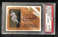 Kirby Puckett 2001 Ultimate Collection Signatures Copper PSA Gem MINT 10, 45/70