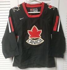 Team Canada IIHF - Olympics - 2002  Authentic Nike Hockey Jersey - Yth - S/M
