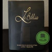 Biblia en Lenguaje Actual Letra Gigante Vinil Negro TLA