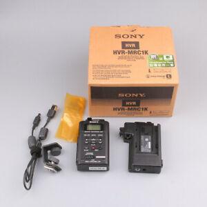 **USED**SONY HVR-MRC1 Memory Recording Unit + HVRA-CR1 eBay#0818