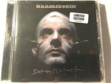 RAMMSTEIN Sehnsucht RARE Australian Limited Edition CD with Hype Sticker