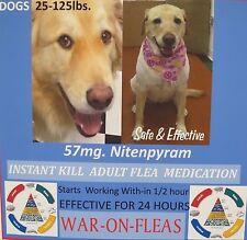 Flea Pills Capsules Dogs 25lbs.-125lbs.SALE $7.49 (6 pack)Free Capsule