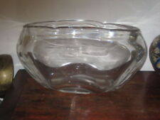 Vase Mid-Century Modern Date-Lined Glass
