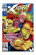 X Force 12 Externals Clash Marvel 1992 XForce