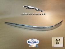 ✅ 02 - 08 Jaguar X-type Front Bumper LH Drivers side Chrome Molding OEM