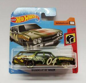 Hot Wheels -  ´70 Chevelle SS Wagon Daredevils 1/5 FRR82 NEU & OVP