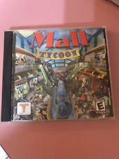Mall Tycoon PC Video Game Disc Tested Rare Vintage Collectible Ships N 24h