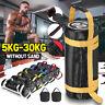 5kg-30kg Weight Lifting Sandbag Training Power Boxing Exercise Bag Gym Fitness