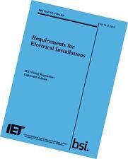 IET Wiring Regulations BS7671 9781785611704 (Big Blue book) Electrical Regs