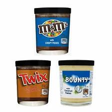 Mix creme spalmabili, 3 barattoli di Twix, Bounty, M&M'S Chocolate Spread 3 x200