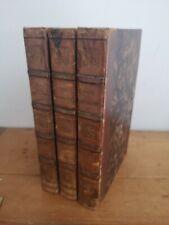 Cervantes Don Quichotte 3 tomes 1822 Carte dépliante Bouchon Dubournial