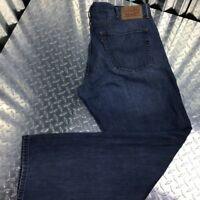 Levi Mens Cotton Denim Jeans Size 38X 32 Relaxed Straight Fit Regular