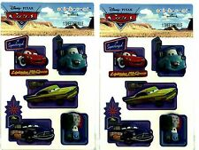 2 New packs of Dimensional Disney CARS Mater Lightning McQueen Hallmark Stickers
