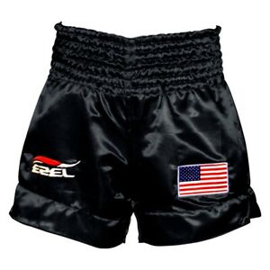 Mens Kick Boxing Shorts MMA Muay Thai Fight Martial Arts Gear