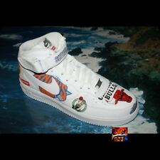 Supreme x Nike x NBA Air Force 1 Mid Sz 12 WHITE DS jordan OG Dunk Jordan SB