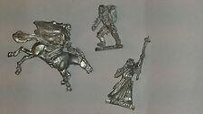 Gw Señor De Los Anillos 3 Modelos Faltan Brazos-Metal-sin Pintar-Lotr