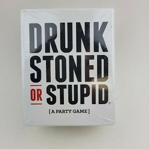 Drunk Stoned or Stupid Party Game Who's Most Likely To A Party Game New Sealed
