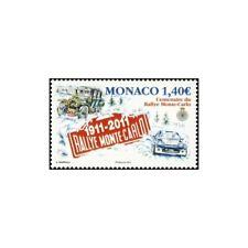 Timbre N° 2759 Neuf ** - Centenaire du Rallye Monté-Carlo, 79ème édition.