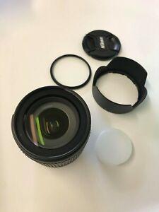 Great Condition | Nikon Zoom-Nikkor 18-105mm f/3.5-5.6 DX ED AF-S Lens + UV