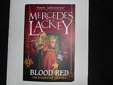 MERCEDES LACKEY – Blood Red, an Elemental Masters novel (Paperback, 2014)