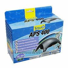 Genuine Tetra APS 400 in-door use aquarium fish tank silent 2 outlets air pump