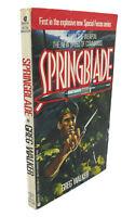 Greg Walker SPRINGBLADE  1st Edition 1st Printing