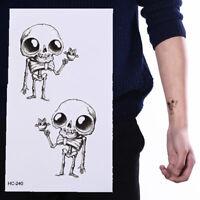 Mini Alien Tattoo Arm Body Art Wasserdicht Temporäre Tätowierung Aufkleber X