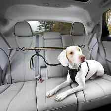 Kurgo Auto Zip Line Car Safety Tether Lead Travel Seat Belt Clip for Dog Harness
