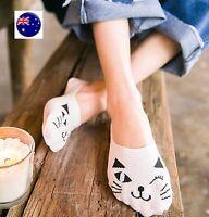 Women Lady Girl No Show Summer Low cut Kitty Cat Foot Boat Lace short Socks