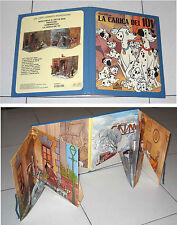 LA CARICA DEI 101 Walt Disney Libro Pop-Up 3D Un libro animato Mondadori 1982