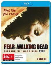 Fear The Walking Dead : Season 3 (Blu-ray, 2018, 5-Disc Set)